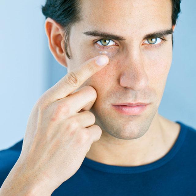Contact lens wearers
